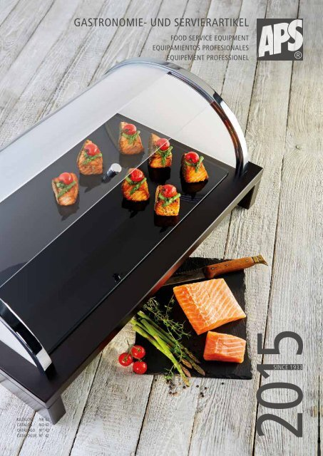 Monobloc servierlöffel Buffet Cuillère présente Cuillère Cuillère Manche 400 mm Acier Inoxydable