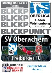 2015/2016 Ausgabe 06 - Freiburger FC