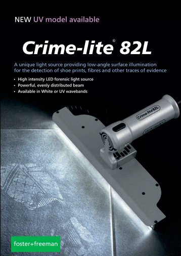 Crime-lite 82L Low Angle Beam Forensic Light Source