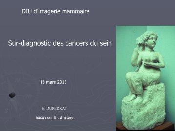 Sur-diagnostic des cancers du sein