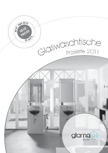 Glaswaschtische - Glamü