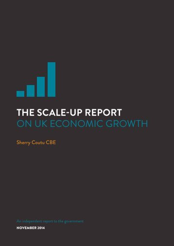 The scale-up report on UK economic growth