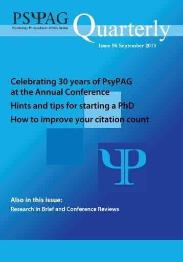 PsyPAG-Quarterly-Issue-96
