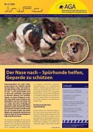 Der Nase nach - Spürhunde helfen, Geparde zu schützen