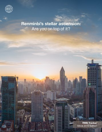 Renminbi's stellar ascension Are you on top of it?