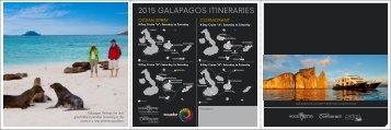 2015 GALAPAGOS ITINERARIES