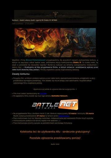 Kolektorka leci do użytkownika Allu - Diablo3.net.pl
