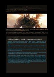 """""""Diablo III Nawałnica światła"""" w księgarniach już 19 marca"""