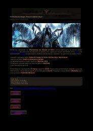 Premierowa noc Reaper of Souls na diablo3.net.pl! Data ...