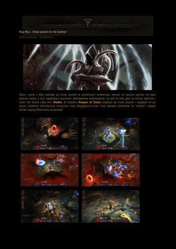 Muu Muu - Krowi poziom to nie ściema! - Diablo3.net.pl