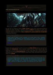 Wieści z mrocznego Sanktuarium #9 Data publikacji : 21.03 ...