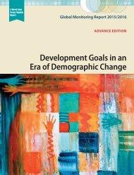 Development Goals in an Era of Demographic Change