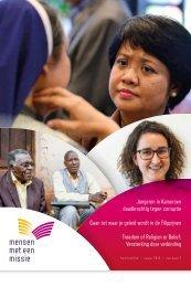 Kwartaalblad Mensen met een Missie 2015 najaar