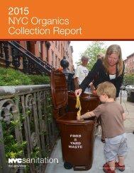 2015 NYC Organics Collection Report