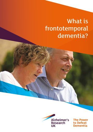 What is frontotemporal dementia?