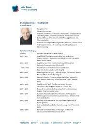 Dr Florian Böhle – Coachprofil