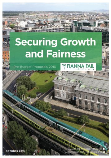 Securing Growth and Fairness