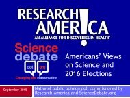 on Science and 2016 Elections