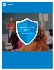 Edmodo Privacy Toolkit
