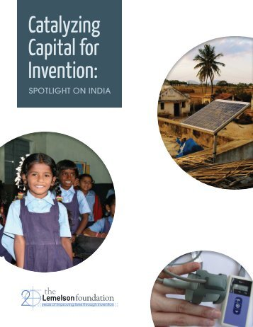 Catalyzing Capital for Invention