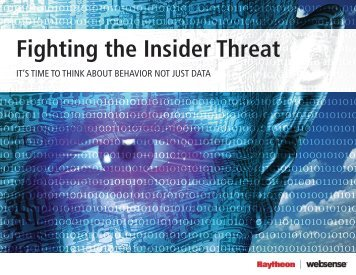 Fighting the Insider Threat