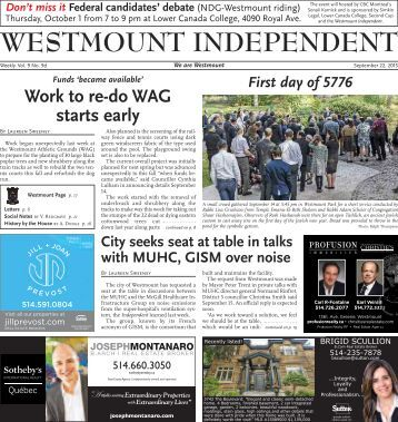 WESTMOUNT INDEPENDENT