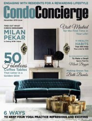CondoConcierge November Issue