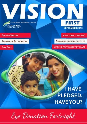 Vision First September Edition