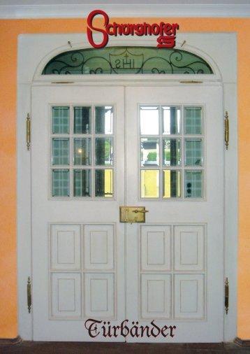 Türbänder für Zimmer & Haustüren