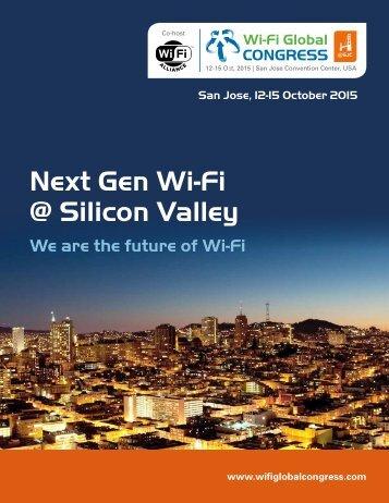 Next Gen Wi-Fi @ Silicon Valley