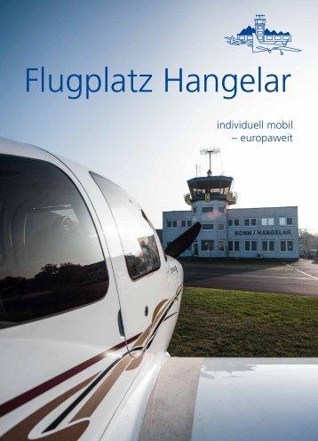 Flugplatz Hangelar Broschuere