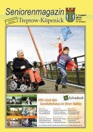 Seniorenmagazin Treptow-Köpenick - 5. Ausgabe 2015