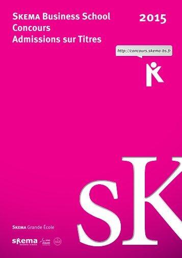 Présentation du concours AST - Concours SKEMA