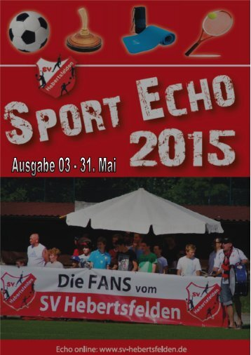 Sport-Echo Ausgabe 3-2015
