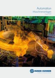 Automation Maschinenanlagen - Brochure