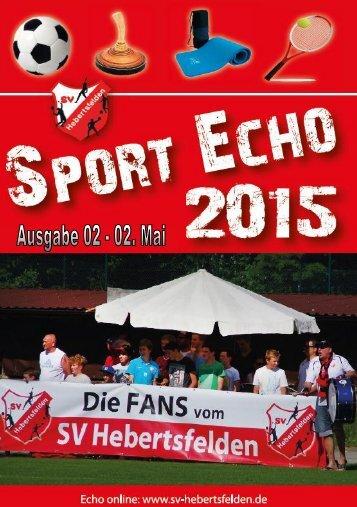 Sport-Echo Ausgabe 2-2015