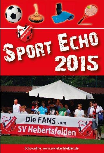 Sport-Echo Ausgabe 4-2015