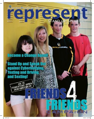 Represent  Change Agent volume XIII issue I