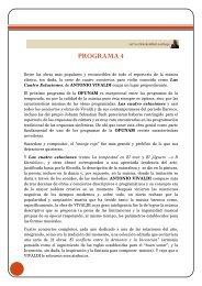PROGRAMA 4