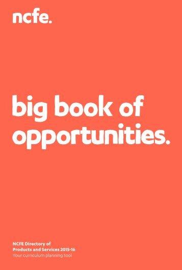 big book of opportunities