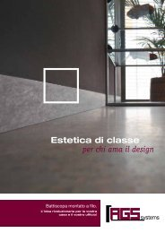 Estetica di classe per chi ama il design