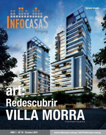 Revista Infocasas Paraguay - Número 10 - Octubre 2015