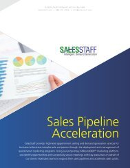 Sales Pipeline Acceleration