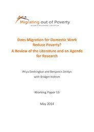 Does Migration for Domestic Work Reduce Poverty? A ...