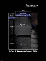 Guitar & Bass Amplification 2006