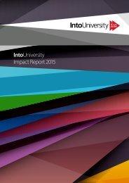 IntoUniversity Impact Report 2015