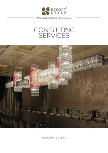 Resort Style (Australasia) Consulting Services