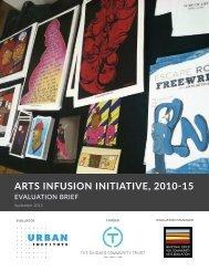 ARTS INFUSION INITIATIVE 2010-15