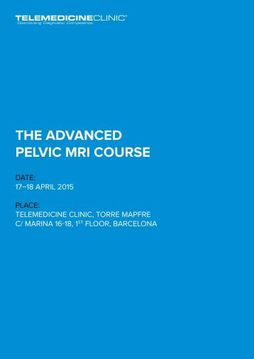 THE ADVANCED PELVIC MRI COURSE