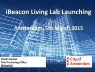 iBeacon Living Lab Launching